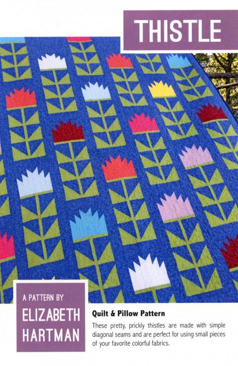 Thistle quilt sewing pattern by Elizabeth Hartman