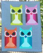 Allie Owl quilt sewing pattern by Elizabeth Hartman 2