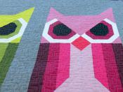 Allie Owl quilt sewing pattern by Elizabeth Hartman 3