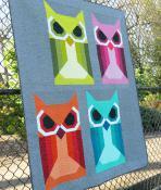 Allie Owl quilt sewing pattern by Elizabeth Hartman 4