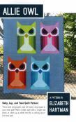 Allie Owl quilt sewing pattern by Elizabeth Hartman
