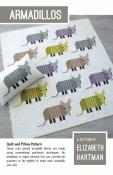 Armadillos quilt sewing pattern by Elizabeth Hartman