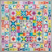 Aviatrix Medallion quilt sewing pattern by Elizabeth Hartman 2