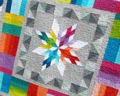 Aviatrix Medallion quilt sewing pattern by Elizabeth Hartman 3