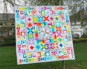 Aviatrix Medallion quilt sewing pattern by Elizabeth Hartman 4
