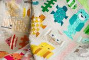Awesome Ocean quilt sewing pattern by Elizabeth Hartman 2