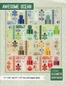 Awesome Ocean quilt sewing pattern by Elizabeth Hartman