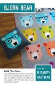 Bjorn Bear quilt sewing pattern by Elizabeth Hartman
