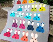 Bunny quilt sewing pattern by Elizabeth Hartman 2