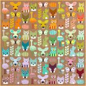 Delightful Desert quilt sewing pattern by Elizabeth Hartman 4