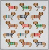 Dogs In Sweaters quilt sewing pattern by Elizabeth Hartman 2