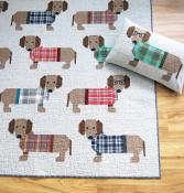 Dogs In Sweaters quilt sewing pattern by Elizabeth Hartman 4
