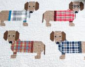 Dogs In Sweaters quilt sewing pattern by Elizabeth Hartman 5