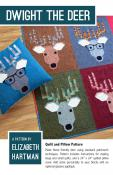 Dwight The Deer quilt sewing pattern by Elizabeth Hartman