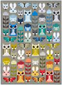 Fancy Forest Animal Sampler Quilt sewing pattern by Elizabeth Hartman 2