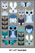 Fancy Forest Animal Sampler Quilt sewing pattern by Elizabeth Hartman 3