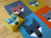 Fancy Fox 2 quilt sewing pattern by Elizabeth Hartman 2