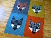 Fancy Fox 2 quilt sewing pattern by Elizabeth Hartman 3