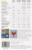 Fancy Fox 2 quilt sewing pattern by Elizabeth Hartman 1
