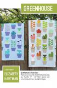 Greenhouse quilt sewing pattern by Elizabeth Hartman
