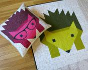Hazel Hedgehog 2 quilt sewing pattern by Elizabeth Hartman 3