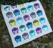 Hazel Hedgehog quilt sewing pattern by Elizabeth Hartman 2