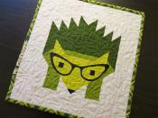 Hazel Hedgehog quilt sewing pattern by Elizabeth Hartman 5