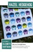 Hazel Hedgehog quilt sewing pattern by Elizabeth Hartman