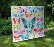 Lepidoptera - Butterfly Sampler Quilt sewing pattern by Elizabeth Hartman 5
