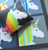 Lisa the Unicorn quilt sewing pattern by Elizabeth Hartman 4