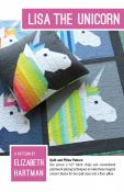 Lisa the Unicorn quilt sewing pattern by Elizabeth Hartman