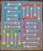 Pointy quilt quilt sewing pattern by Elizabeth Hartman 2