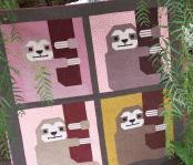 Sleepy Sloth quilt sewing pattern by Elizabeth Hartman 2