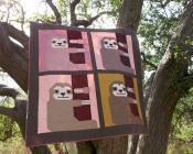 Sleepy Sloth quilt sewing pattern by Elizabeth Hartman 5