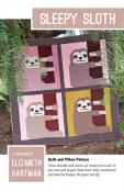 Sleepy Sloth quilt sewing pattern by Elizabeth Hartman