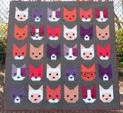 The Kittens quilt sewing pattern by Elizabeth Hartman 2