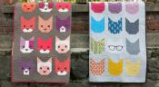 The Kittens quilt sewing pattern by Elizabeth Hartman 4