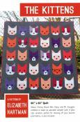 The Kittens quilt sewing pattern by Elizabeth Hartman