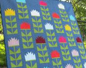 Thistle quilt sewing pattern by Elizabeth Hartman 2