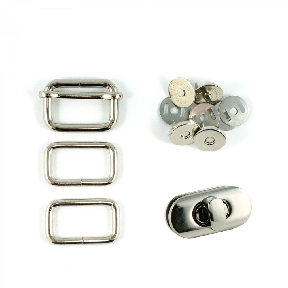 Butterfly-Sling-Hardware-Kit-Nickel-Emmaline-Bags-EBKIT-104NL