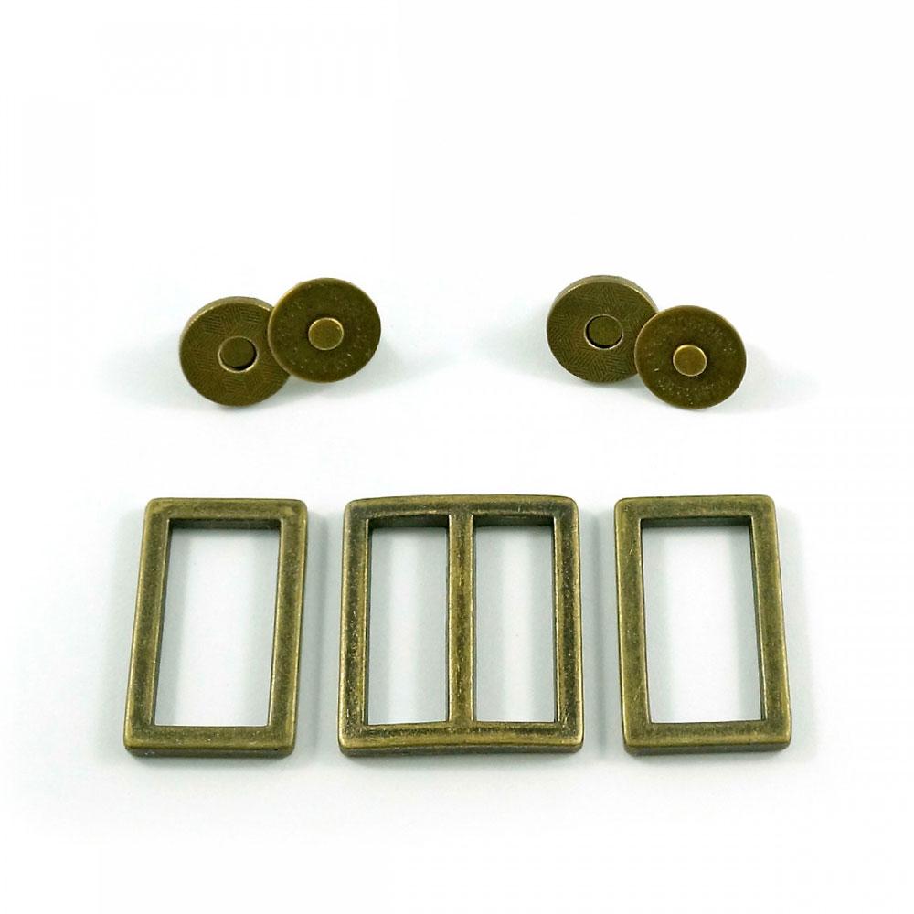 Manhattan-Bag-Hardware-Kit-Antique-Brass-Emmaline-Bags-EBKIT-106AB