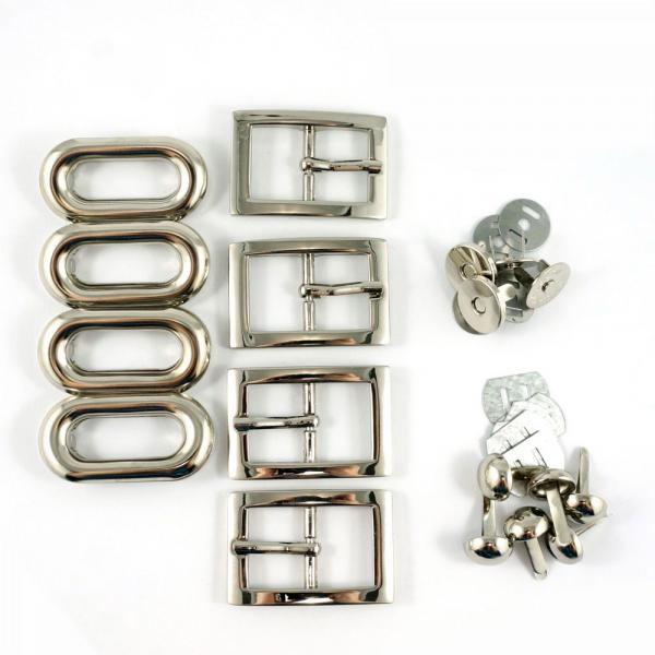 Totes Ma Tote Hardware Kit - Nickel from Emmaline Bags