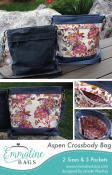 Aspen Crossbody Bag sewing pattern from Emmaline Bags