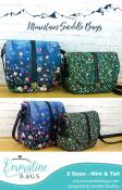 Mountain Saddle Bags sewing pattern from Emmaline Bags