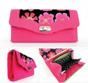 The Necessary Clutch Wallet sewing pattern from Emmaline Bags 2