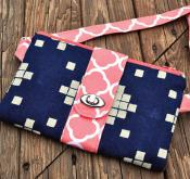The Butterfly Sling Purse sewing pattern from Emmaline Bags 2