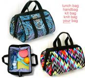 Luxie Lunch Bag sewing pattern from Emmaline Bags 2