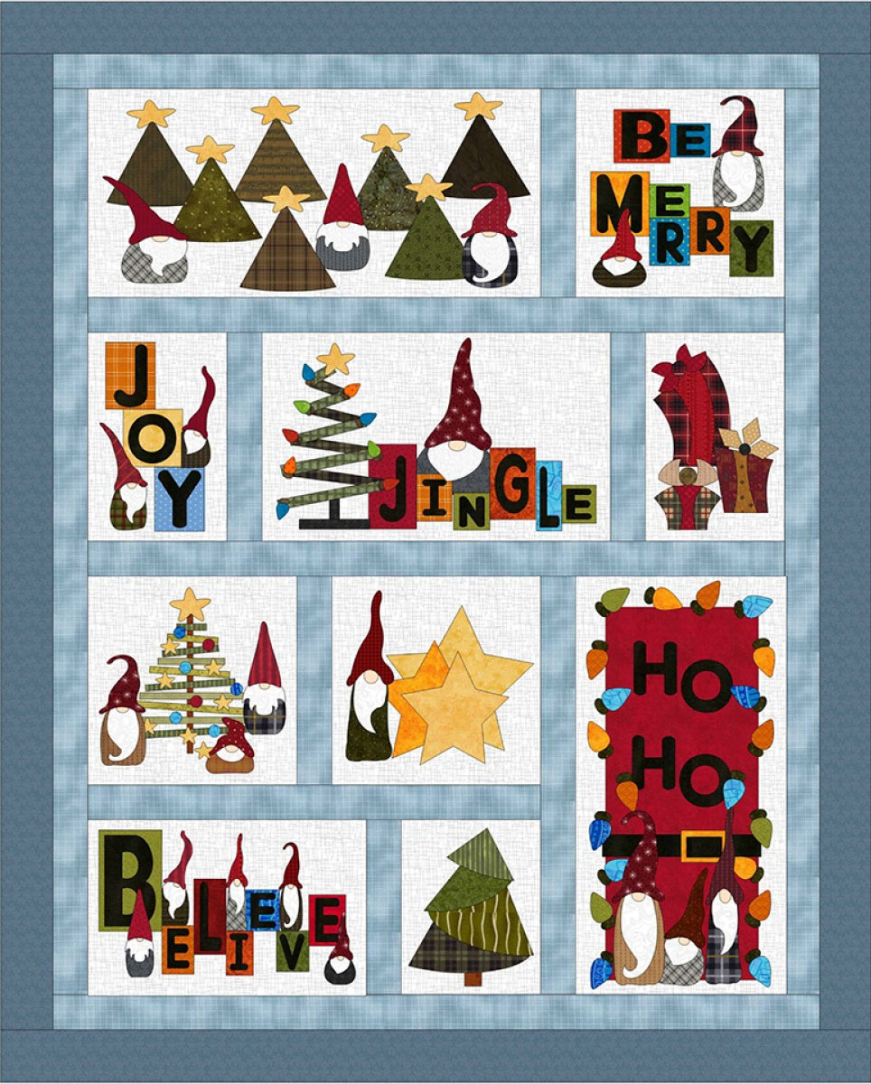 Gnome-for-the-holidays-quilt-sewing-pattern-FatCat-Patterns-1