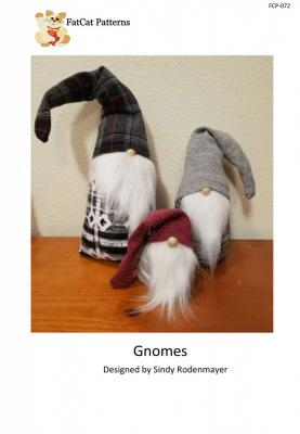 Gnomes sewing pattern from FatCat Patterns