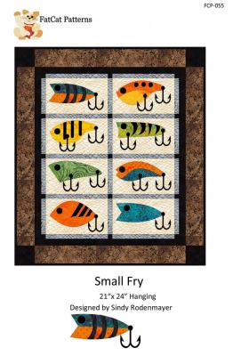 Small Fry quilt sewing pattern from FatCat Patterns